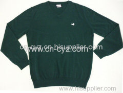 Men's Pure Color Lambswool Pullovers