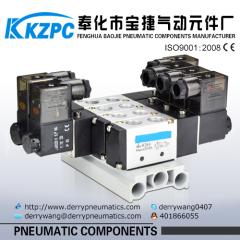 Manifold solenoid valve 5 way