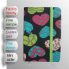 Canvas fabric cover notebook