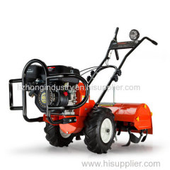 7hp 700mm tilling width Self Propelled diesel tiller