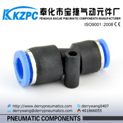 6mm mini pneumatic fittings Plastic