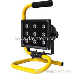 high performance-price ratio portable 9LED outdoor led flood light