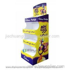 2014 Hot Selling Corrugated Cardboard Stand Up Display
