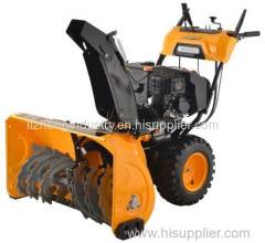 420cc 15hp electric start 6 forward 2 reverse portable snow blower gardenpro