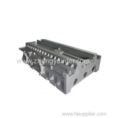 Grey iron machine tools casting parts factory