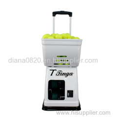 NEW TENNIS BALL SHOOTING MACHINE FOR FAMILY MINIUSING TENNIS BALL MACHINE