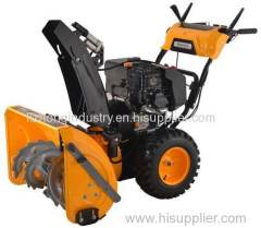 420cc electric start tractor snow blower