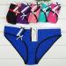 2015 New spandex cotton bikini pants plain women short brief Sexy boyleg lady underpant stretch lady panties lingerie in