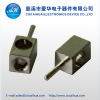 Customized brass connector with nickel plating