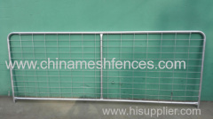Customized steel gate works for farm and cattle and sheep