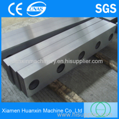 High reflective metallurgical guillotine shear blades