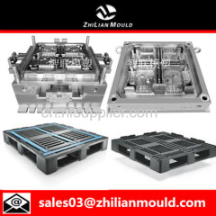 custom OEM plastic pallet mould with high precision in China