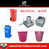 custom OEM plastic dustbin mould with high precision in China
