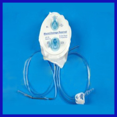 PVC wound drainage system