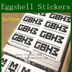 Destrucitble Eggshell Sticker Paper
