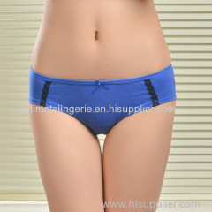 2015 New spandex laced cotton boyleg panties lady brief stretch cotton pants knickers women underwear lingerie intimate