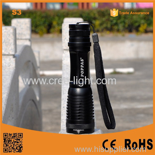 S3 power light Rechargeable Zoom small rechargeable torch light