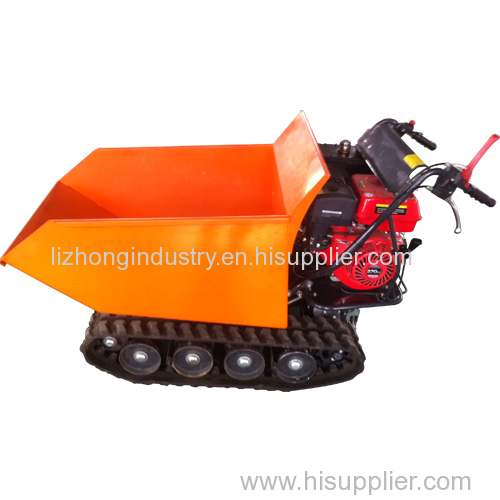 9hp 500kgs load capacity hydarulic tipping self-loading mini truck dumper
