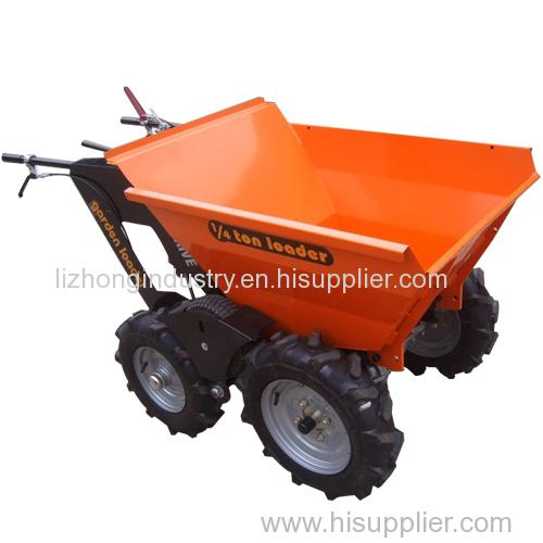 6.5hp 1/4T load capacity motorized wheel barrow