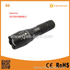 S2 XML T6 High Power 18650 Rechargeable LED flesh light torch