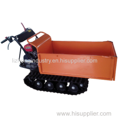 6.5hp gasoline engine 500kgs load capacity garden mini dumper truck