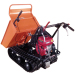 6.5hp 300kgs load capacity loading capacity mini dumper 4x4