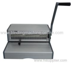 Manual Spiral Coil Binding Machine for 14inch paper 360