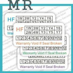 Tamper Evident Warranty Sticker