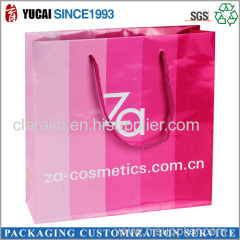 Hot Sale Cosmetic Paper Bag with High Quality