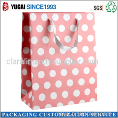 2015Hot Sale Wave Point Paper Bag for Shopping
