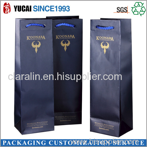 2015 High Quality Carrying Wine Paper Bag