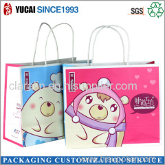 2015Hot Sale Cartoon Paper Bag for Shopping