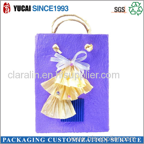 2015 High Quality Customized Color Paper Bag for Shopping