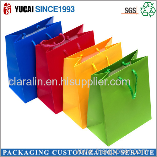 2015 Color Paper Bag for Shopping