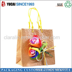 2015High Quality Color Bag with Customized Handicrafts