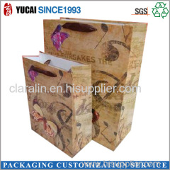 Colorful Printing Paper Bag