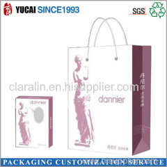 Hot Sale Cosmetic Paper Bag and Box Suit