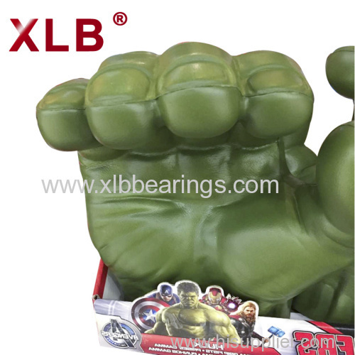 Custom Machining movie Character Hulk Model PVC PU Foaming Hand of Hulk