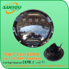 Sanyou 75W round LED headlight H L DRL 6750lm projector headlight 6500K 7inch headlight for offroad