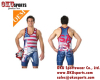 Hot selling custom wrestling singlets/boxing singlets/wrestling Stringer