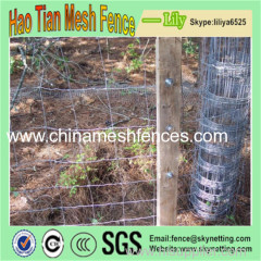 Hot dipped-Galvanized Grassland Farm Field Fence