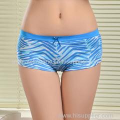 2015 New stretched cotton boxers sport women underwear lady boyshort pants lady panties lingerie intimate underpants