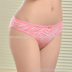 2015 New cozy stretched cotton bikini brief soft women underwear lady boyshort pants lady panties lingerie intimate unde