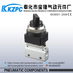 "1/8"" inch Pneumatic part MSV Series Pneumatic Mechanical valve"