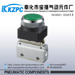 Raised head button switch Mechanical Valve/Manual Valve