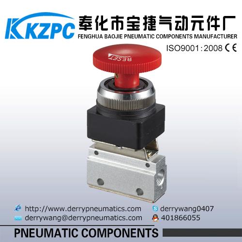 MOV Series 3 way pneumatic Mechanical Valve