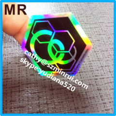 hologram logo label sticker