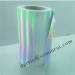 China top destructive Hologram vinyl paper factory wholesale hologram destructibl label paper rolls and sheets