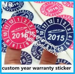 2015/2016 warranty void stickers