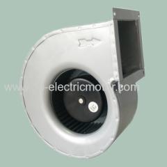 Small centrifugal blower fan